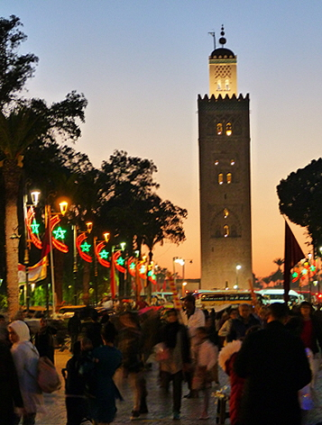 Morocco Marrakesh Koutoubia Mosque