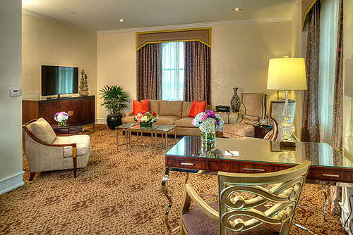 Peabody Memphis Presidential-Suite-Living-Room