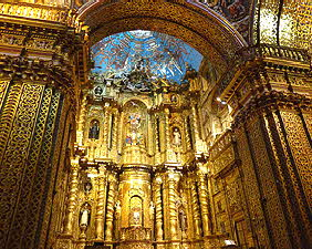 Quito Gold Church