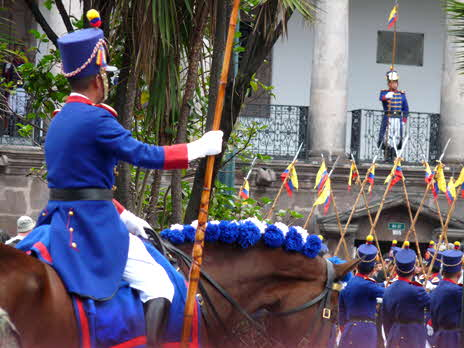 Quito Presidential Guard