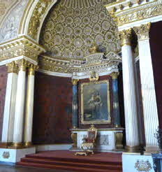 Russia - St. Petersburg Throne Room