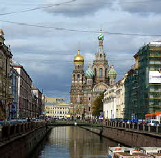 Russia - St. Petersburg Church of the Spilled Blood
