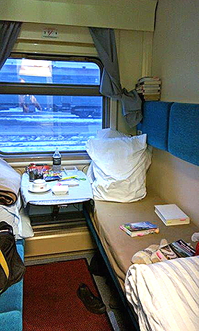 My compartment during the day
