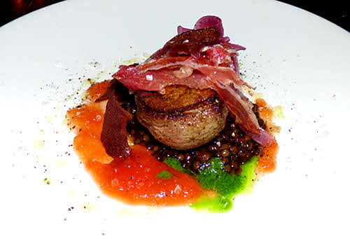 Salinas Duck Breasts with Ibérico Ham