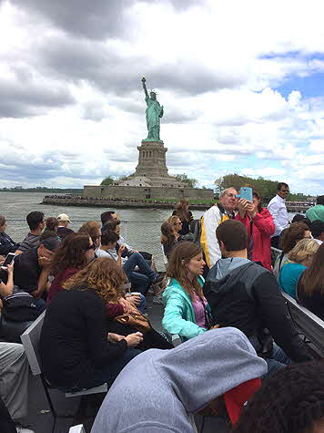 Statue of Liberty boat