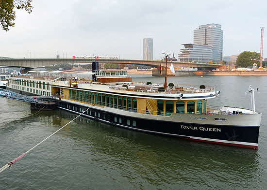 Uniworld River Queen in Köln