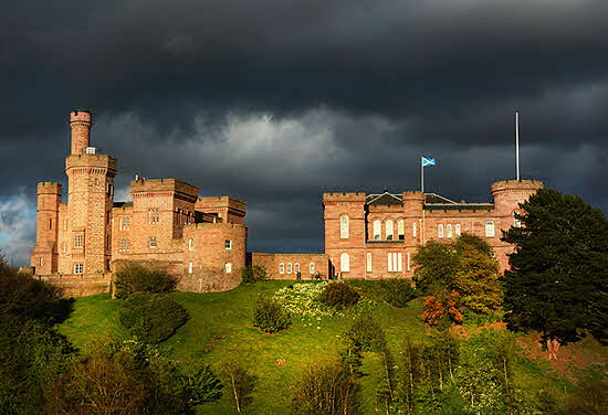 Zaunders Inverness Castle